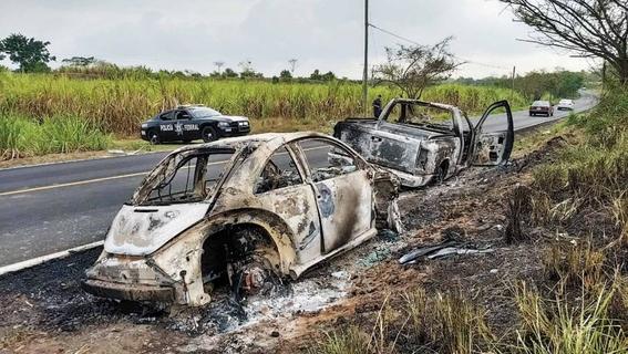 encuentran autos calcinados de jovenes desaparecidos en veracruz 2