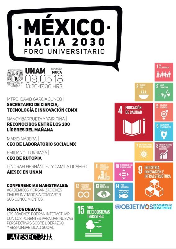 foro universitario mexico hacia 2030 2