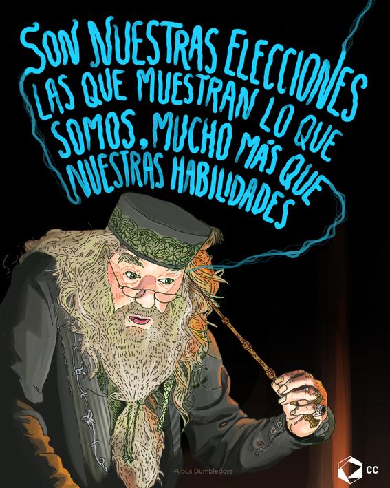 frase de albus dumbledore 1