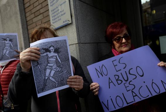 onu critica sentencia a la manada en espana 7