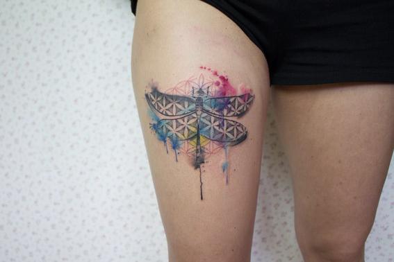 tatuajes de libelulas 8