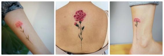 tatuajes de flores 4