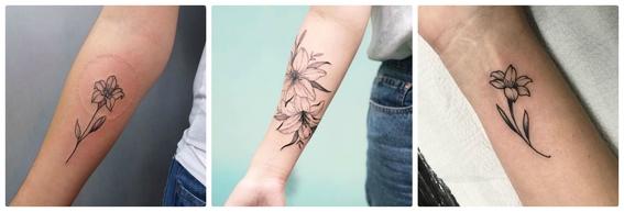 tatuajes de flores 8