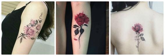 tatuajes de flores 9