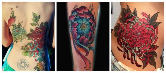 tatuajes de flores 14