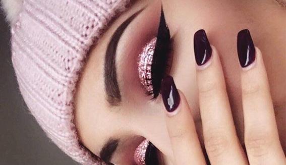 maquillaje glitter 2