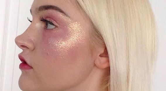 maquillaje glitter 3