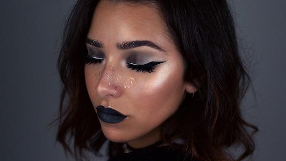 maquillaje glitter 6