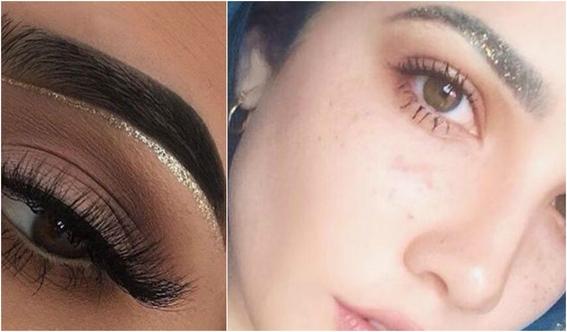 maquillaje glitter 4