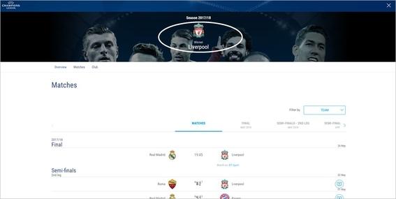 uefa declara al liverpool campeon de la champions league 2