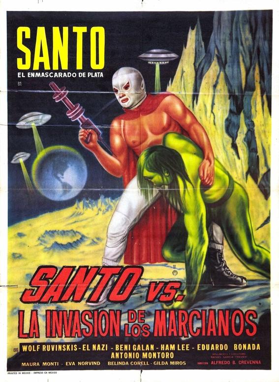 el santo masked mexican wrestler 2