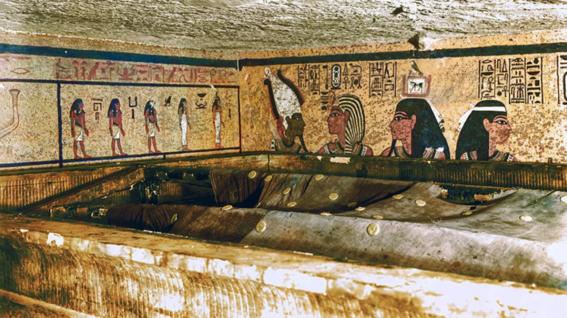resultado final de camaras secretas en tumba de tutankamon 1