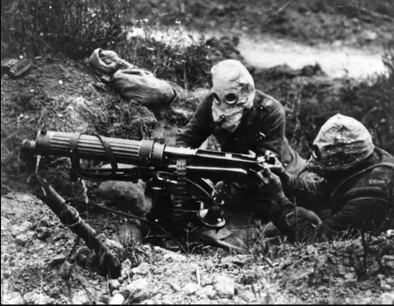 gas masks photos chemical warfare horror 1