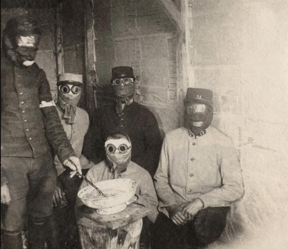 gas masks photos chemical warfare horror 10