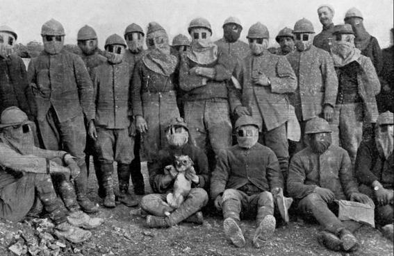 gas masks photos chemical warfare horror 18