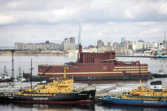 rimera central nuclear flotante de rusia 1