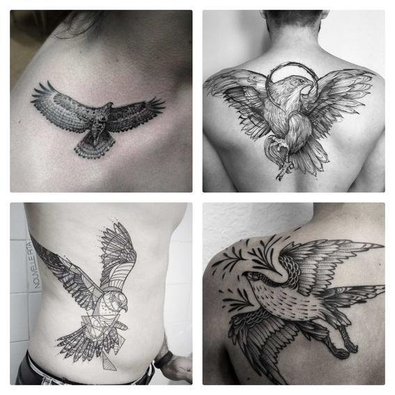 Resultado de imagen para tatuajes de halcones
