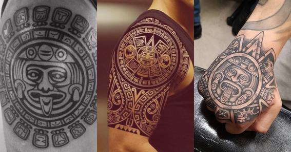 mayan tattoos 2