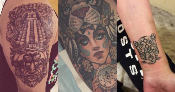 mayan tattoos 3
