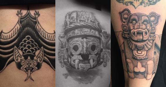 mayan tattoos 6