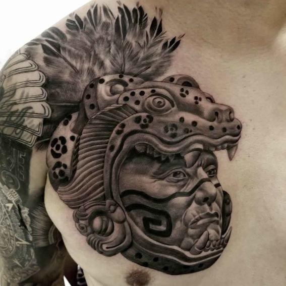 mayan tattoos 1