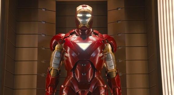 roban la armadura de iron man 2