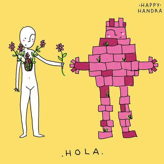ilustraciones de happy handra 1