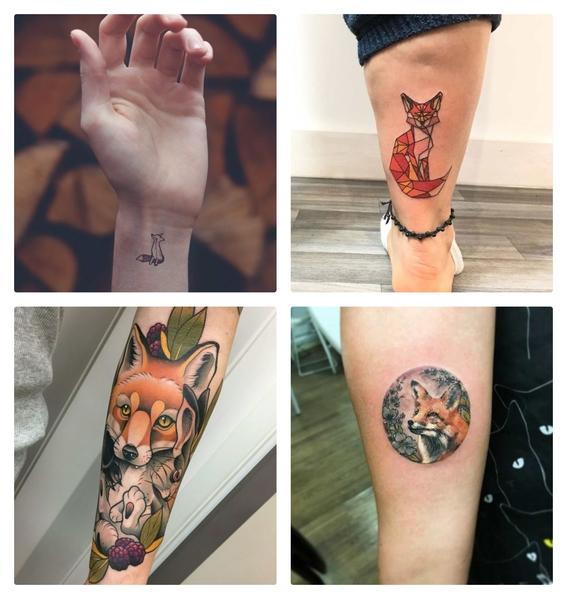 tatuajes de zorros para hombres y mujeres 4