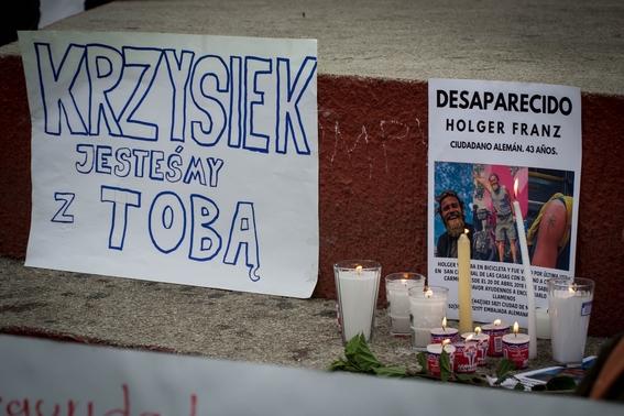 exigen justicia por asesinato de ciclistas extranjeros en chiapas 1