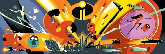 los increibles 2 pelicula animada pixar 1