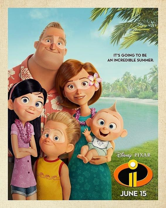 los increibles 2 pelicula animada pixar 2
