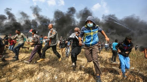 la gran marcha del retorno y hechos violentos en gaza 2