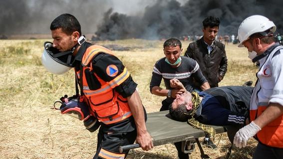 la gran marcha del retorno y hechos violentos en gaza 3