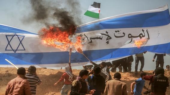 la gran marcha del retorno y hechos violentos en gaza 4