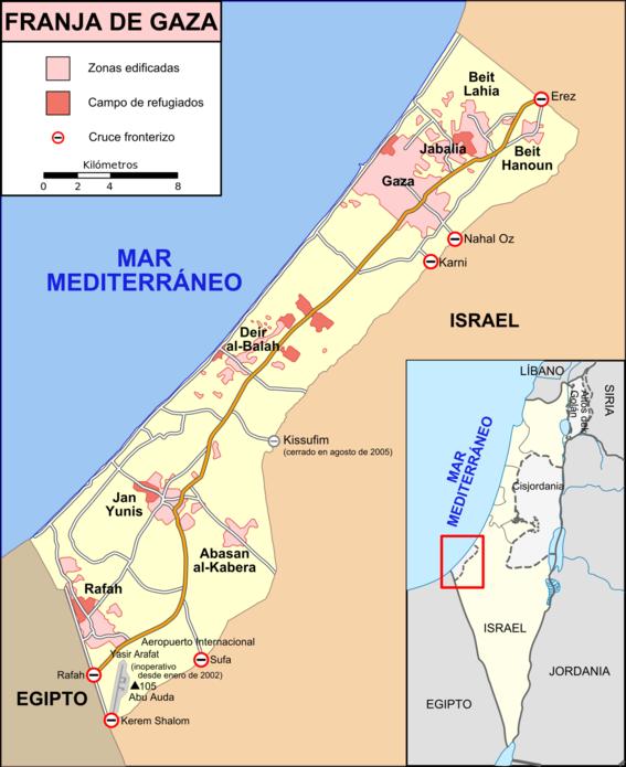 la gran marcha del retorno y hechos violentos en gaza 1