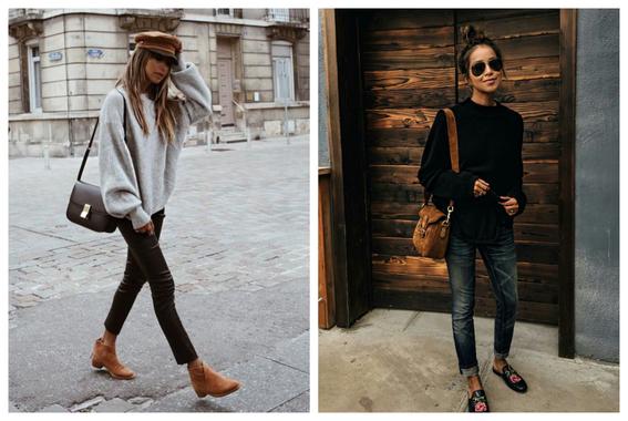 formas de usar jeans negros 3