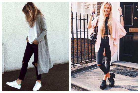 formas de usar jeans negros 4