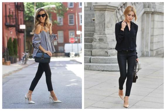 formas de usar jeans negros 8