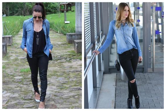 formas de usar jeans negros 9