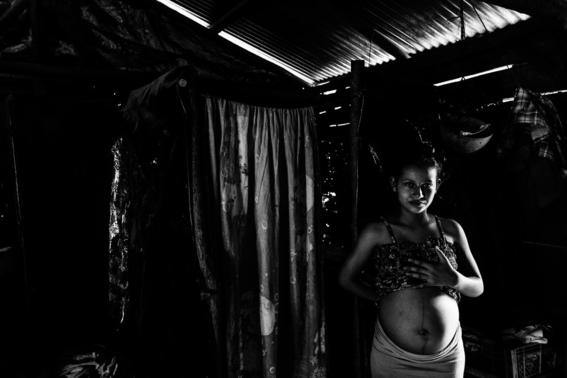 fotografias sobre el embarazo en nicaragua 1