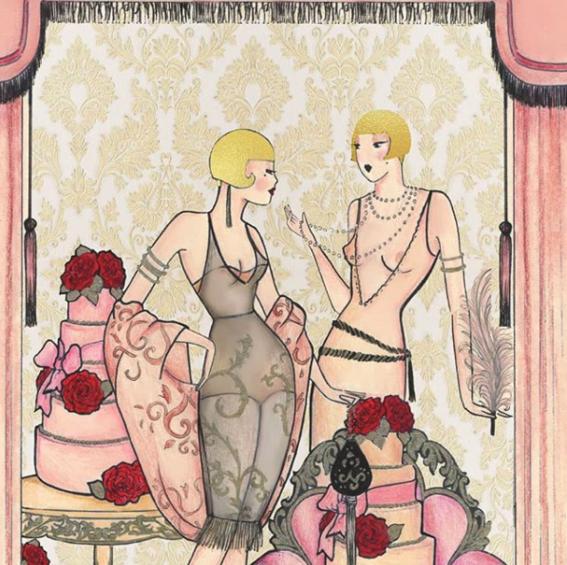 ilustraciones eroticas de amalia russiello 3