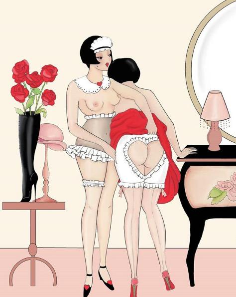 ilustraciones eroticas de amalia russiello 8