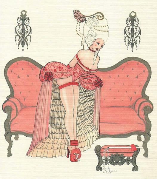 ilustraciones eroticas de amalia russiello 12