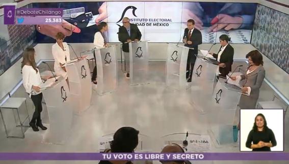 Chilangos en EEUU pueden ver aquí el segundo debate de aspirantes a Jefatura de Gobierno