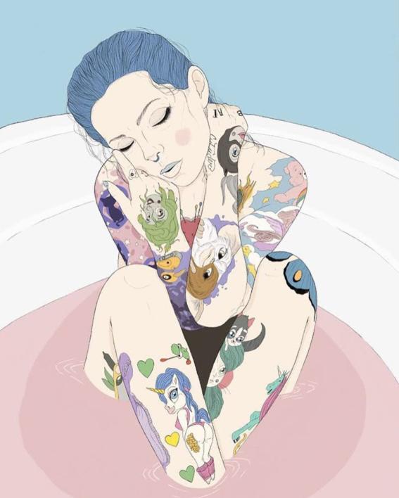 pietro tenuta dreamy illustrations 4