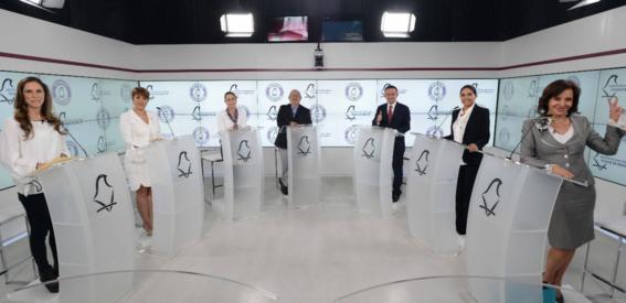 conversacion en redes sobre el segundo debate de la cdmx 2
