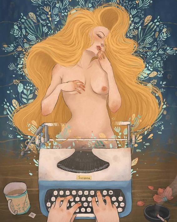 ilustraciones de mujeres 1