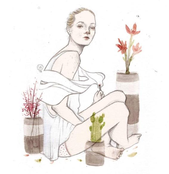 ilustraciones de mujeres 3