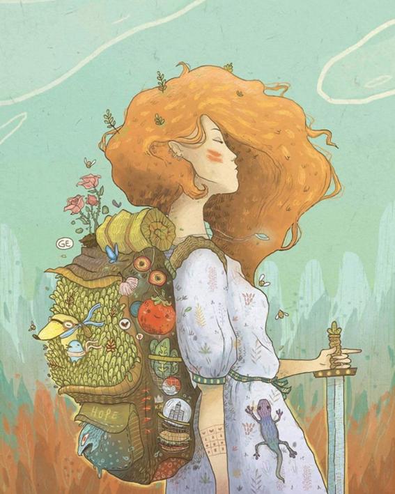 ilustraciones de mujeres 6