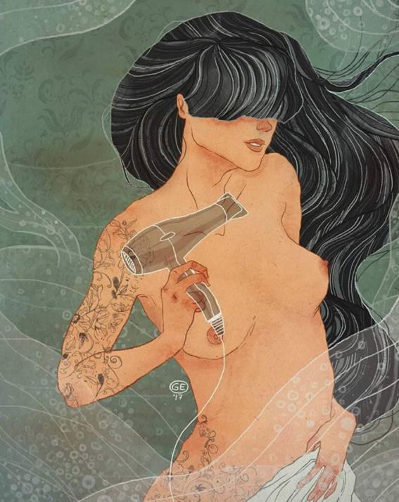 ilustraciones de mujeres 12